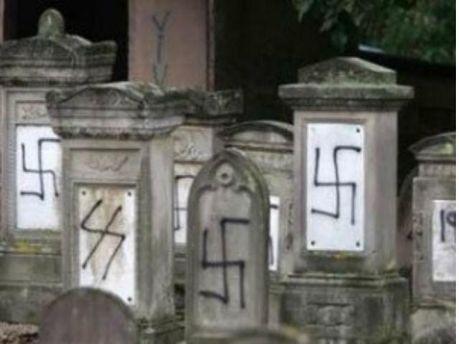 Свастика на надгробках