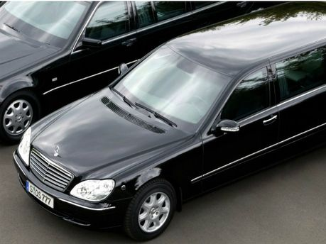 Бронированный Mercedes