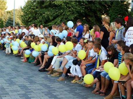 Днепропетровск решил отметить праздник рекордом