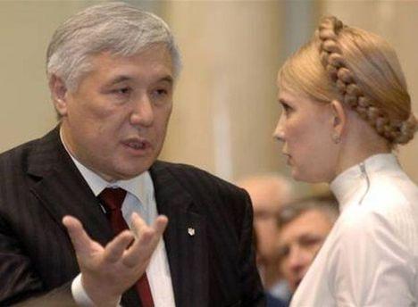 Юрий Ехануров и Юлия Тимошенко