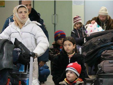 Эвакуированы восемь граждан Украины