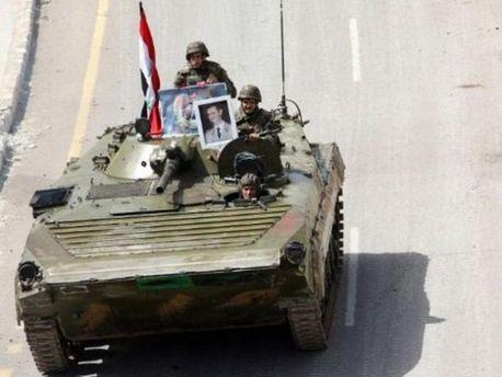 Військові в Сирії