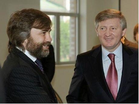 Вадим Новинський та Рінат Ахметов