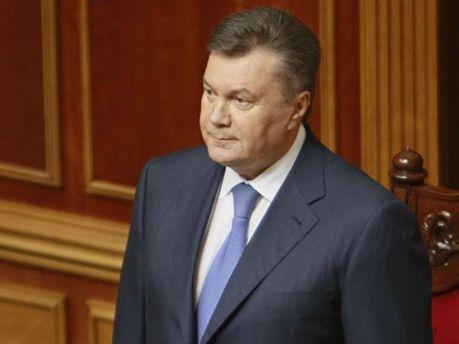 Виктор Янукович в ВР