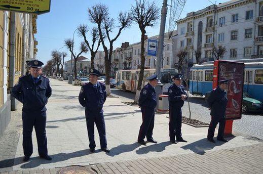 Українські міліціонери
