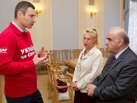 Віталій Кличко і Джордж Велла