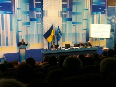 Закрытый съезд киевской ячейки Партии Регионов