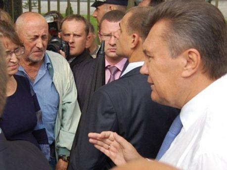 Віктор Янукович у Луцьку