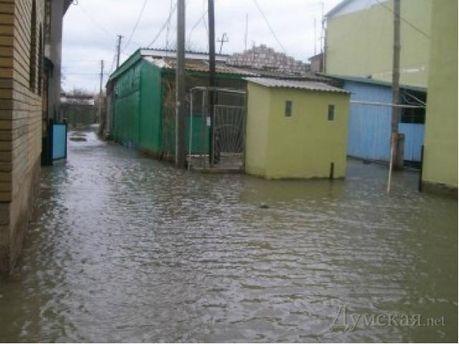 Підтоплення на Одещині