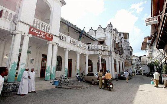 улица в Занзибаре
