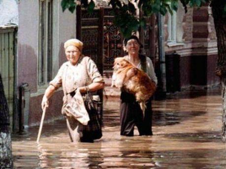 Наводнение в Румынии