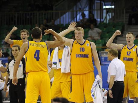 Українські баскетболісти
