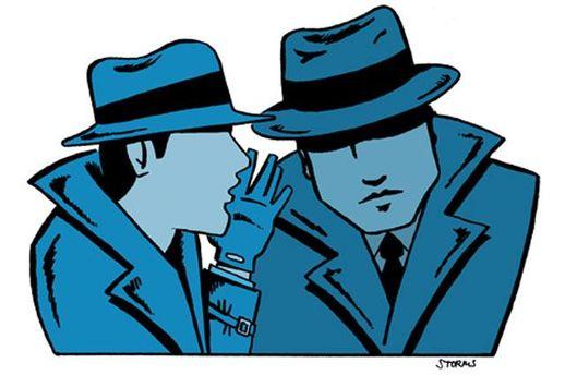 Карикатура на спецагентів