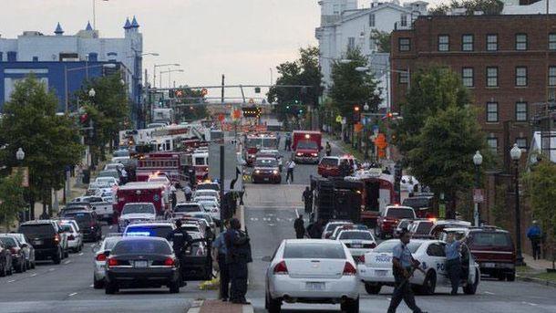 Место происшествия в Вашингтоне