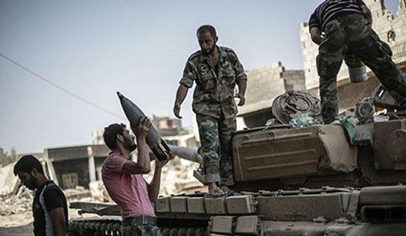 Сирия во время войны