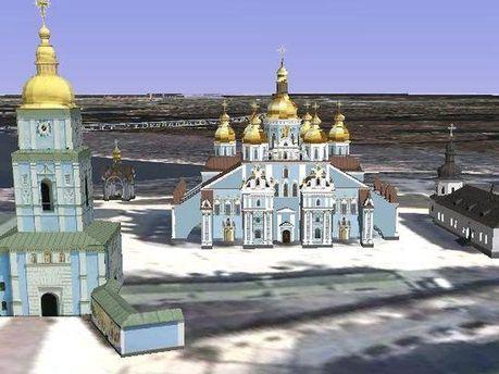 3D-карта Києва