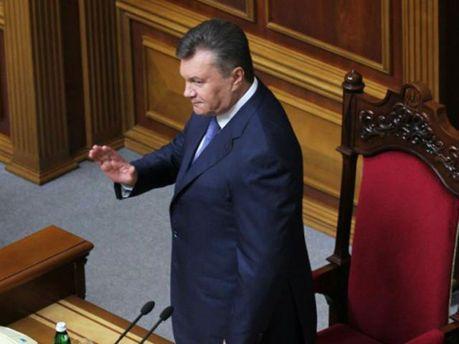 Віктор Янукович у Раді