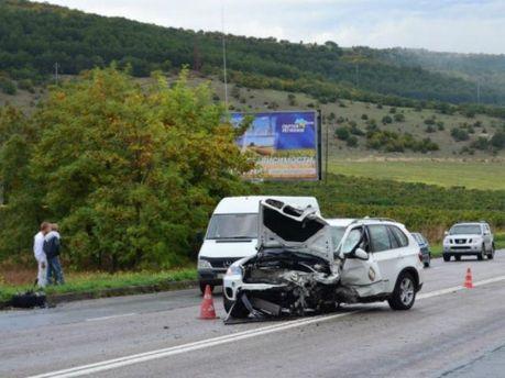 Аварія у Криму