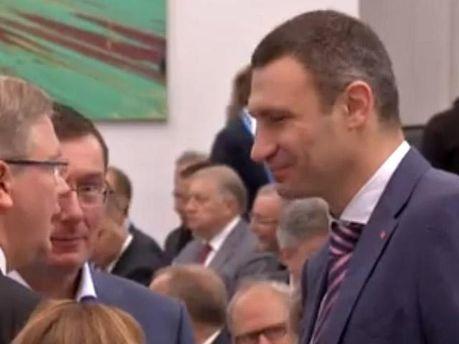 Виталий Кличко на Ялтинской конференции