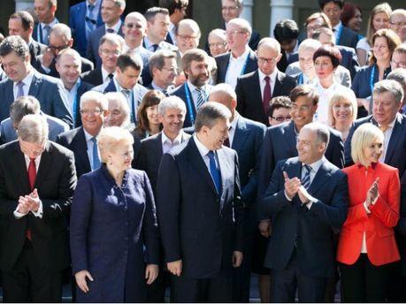Віктор Янукович на зустрічі у Ялті