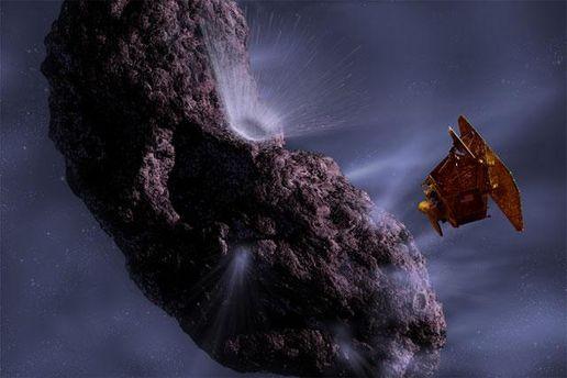 Deep Impact исследует комету