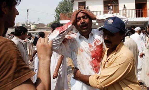 Жертвы взрывов в Пакистане