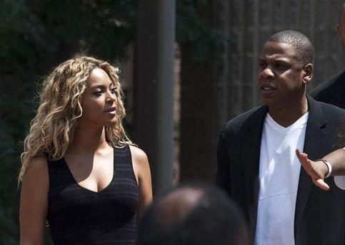 Бейонсе з чоловіком Jay-Z