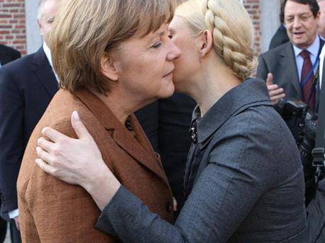 Тимошенко і Меркель
