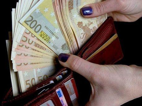 Євро у гаманці