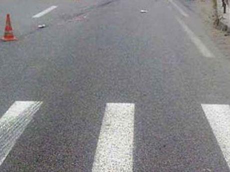 Водитель сбил мальчика на переходе