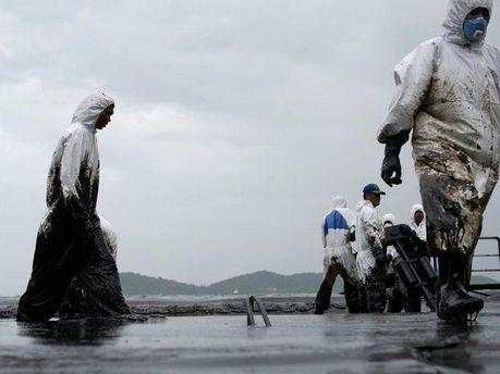 Загрязнение нефтью