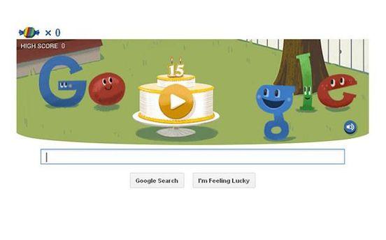 Заставка Google 27 сентября
