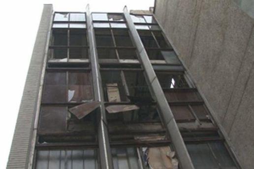 Взрыв в здании Академии
