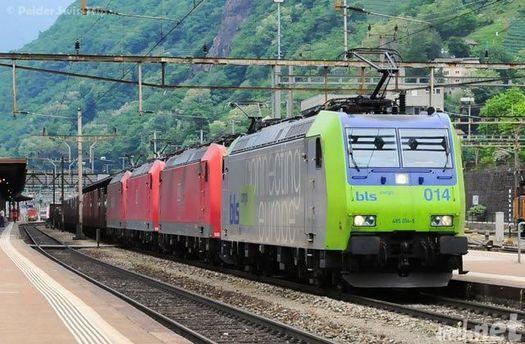 Европейский товарный поезд