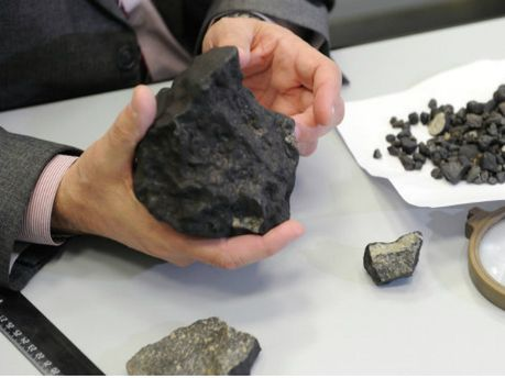Челябінський метеорит