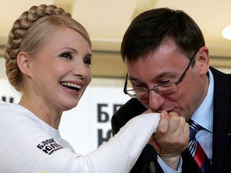 Тимошенко и Луценко