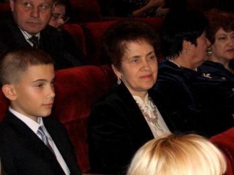 Людмила Янукович з внуком Віктором