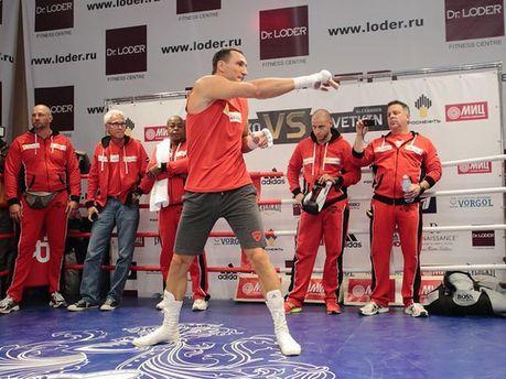 Тренировка Кличко