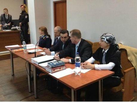 Ірина Крашкова та адвокати