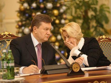Віктор Янукович та Ганна Герман