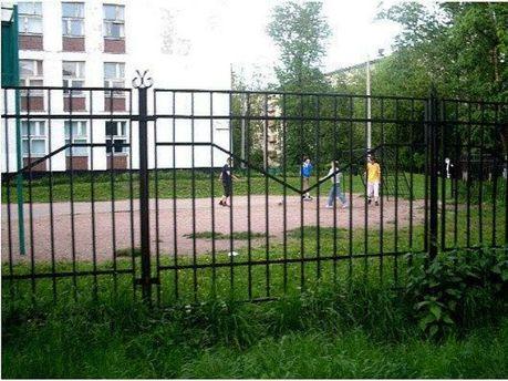 Школьная площадка