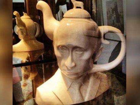 Чайник у вигляді Володимира Путіна