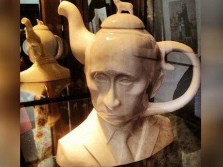 Чайник в виде Владимира Путина