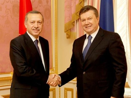 Виктор Янукович и Реджеп Тайип Эрдоган