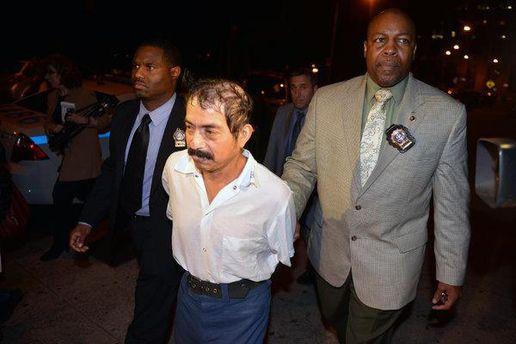 Конрада Хуареса затримує поліція