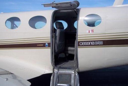 Вход в самолет