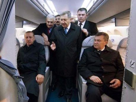 Виктор Янукович в Турции