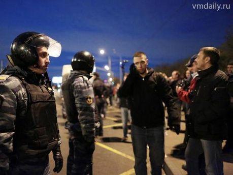 Полиция арестовала нескольких протестующих