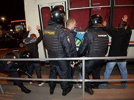 Задержанные в Москве