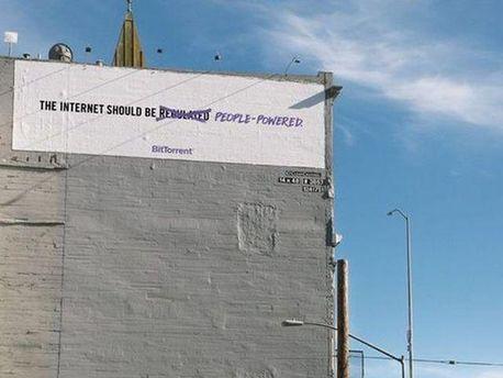 Реклама BitTorrent